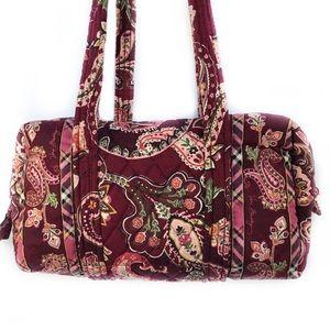 Vera Bradley Burgundy-Wine Shoulder Bag